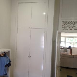 wardrobe in bedroom