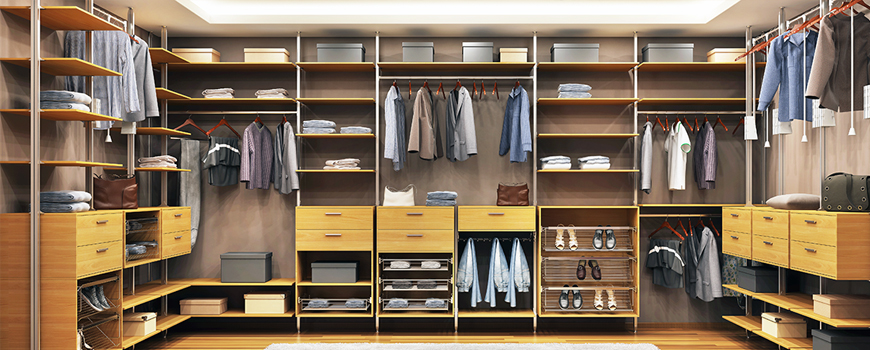 Internal Design of a Wardrobe