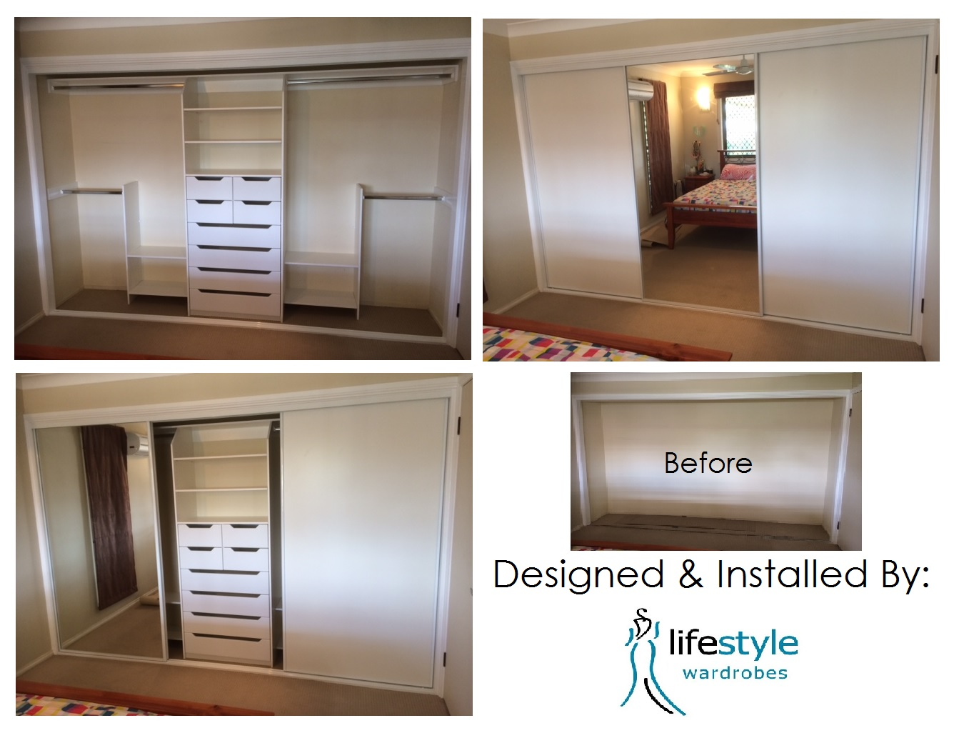 before and after cupboards