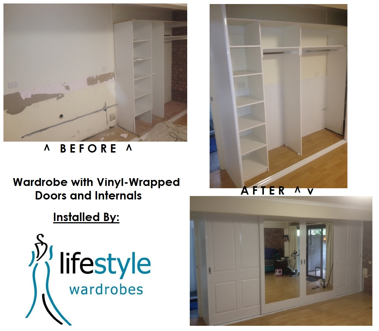 new wardrobe installation