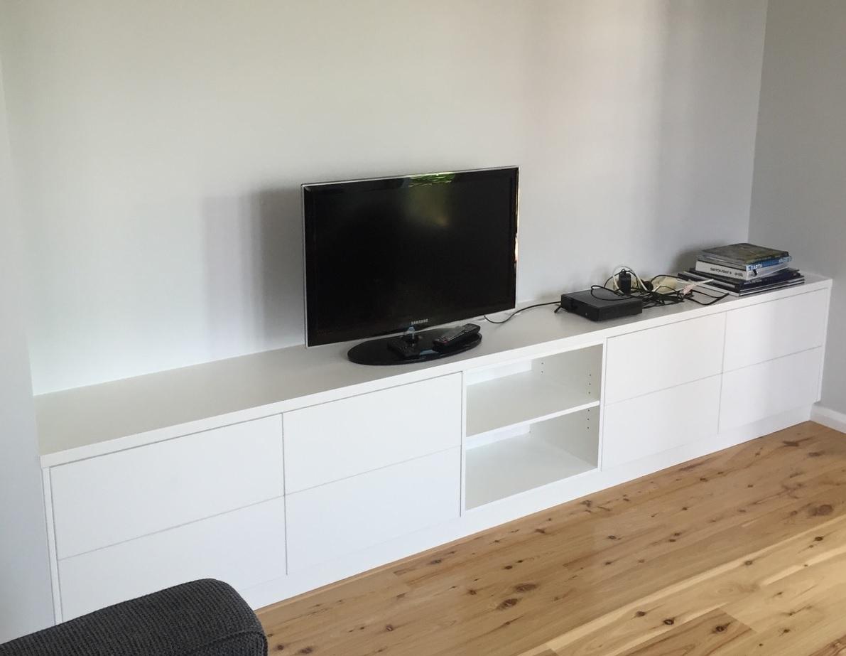 cupboard in living room