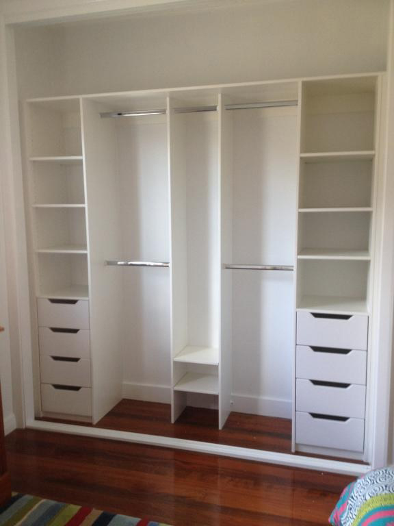 wardrobe with inserts