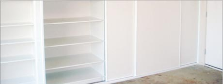 custom living area wardrobes